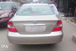 Clean Tokunbo toyota camry 2004 model