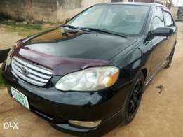 Top Grade Corolla Sport 2004 with low mileage