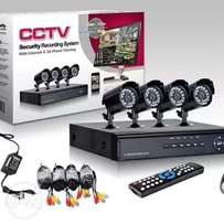CCTV Cameras-Phone Connection for Remote Viewing