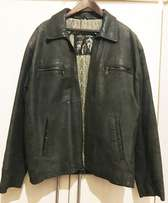 Geniune Leather Mens Jackets XL