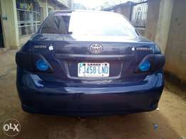 Toyota corolla CUSTOMIZED 2009 model for sale