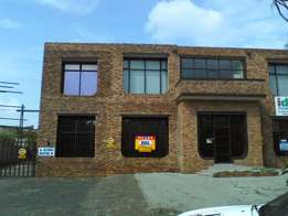 Self contained offices available with warehouse.