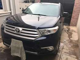 Registered 2012 Toyota Highlander
