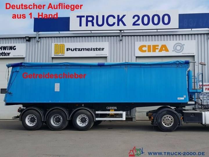 Carnehl 3 Achs 40m³ Alu Getreide Schieber 32.8t.Nutzlast - 2011
