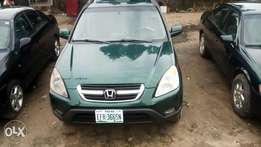 Green Honda crv available for sell