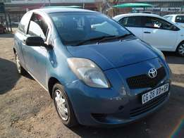 A Toyota Yaris, 2007, model,leather interiors electric windows, fact