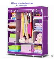 Wooden frame portable wardrobes