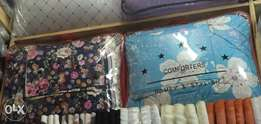 Duvet size 6 by 6