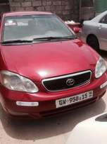 Very neat toyota corolla Le 15 registered for sale
