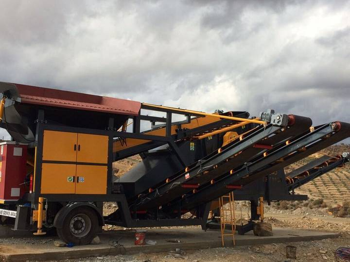 Fabo ME-1645 SERIES MOBILE SAND SCREENING PLANT - 2019