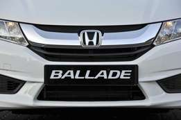 Honda Ballade wanted