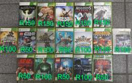 Various XBOX 360 Games