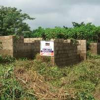 Uncompleted 3 , 2 bedroom bungalow for sales at academy area IBadan