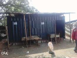 Container already Fabricated n Put in a busy market ready 4rent/sal
