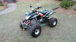 200cc No limit manuel quad with reverse in mint condition,as new
