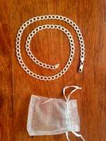 real 925 silver chain