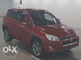 Toyota Rav 4 4wd with Spare Tyre