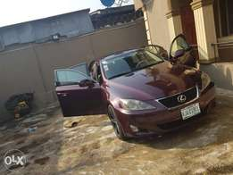 Lexus is 250 (3months used)