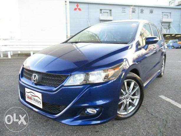 Honda Stream RST blue 2010 model. KCP number Loaded with Alloy rims, Mombasa Island - image 3