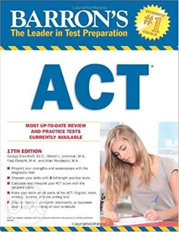 Barron's ACT, 17th Edition 17th Edition Surulere - image 1