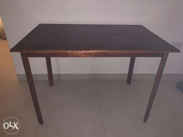 Mint Condition Wooden table for Sale RO 30/-.