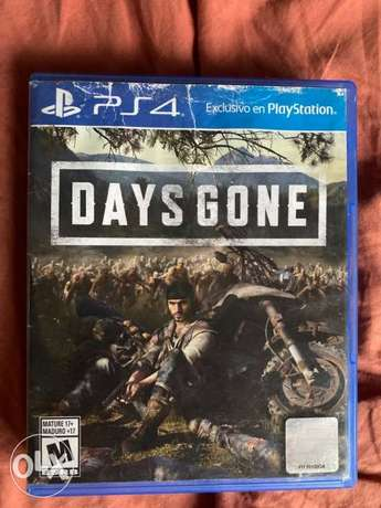 Days Gone Like New Used Only Once