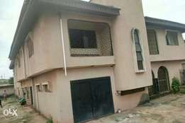 A 5 bedroom duplex with two now 3 bedroom up and down as bq at ipaja