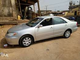Toyota camry 2004 for sale quick sale tokumbo direct with custom duty
