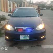 Few month used 05 Toyota Corolla sport,1st body