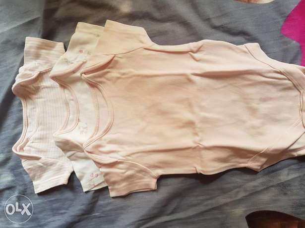 Used baby clothes 3pcs mother care brand