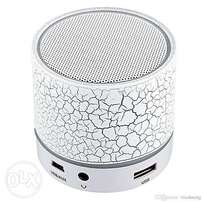 A1 Portable LED Bluetooth Speaker With TF And FM - White