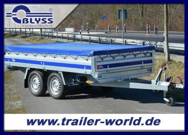 Blyss Hochlader 304x160x38cm PKW Anhänger 1500kg GG