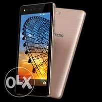 Tecno N8s smartphone, 1 months old, clean as from shop
