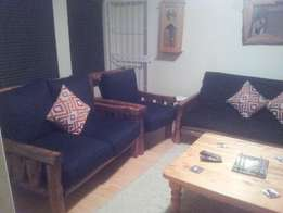 LOG FURNITURE FOR SALE (2 Seater/Chair/Sleeping Couch)