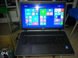 Hp Pavilion 17, Intel Core i5, 500GB HDD and 4gb RAM