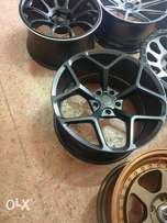 Staggered Bmw Rims 20nch (5×120) front 10j rear 11j