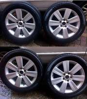 18 Inch MAGS + Tyres - From Chev Captiva - 5 X 115 PCD