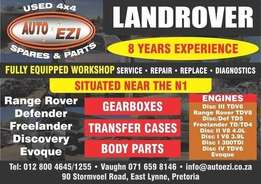 Repairs on Landrover vehicles