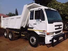 Nissan UD 440 10 Cubic Tipper ZF Neat Work Waterdetail
