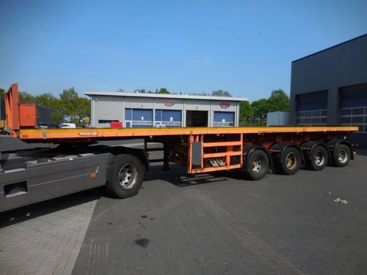 Nooteboom OVB-73-04, Ballast Trailer, Gvw: 71.400 kg / 89.250 kg, TUV - 2001