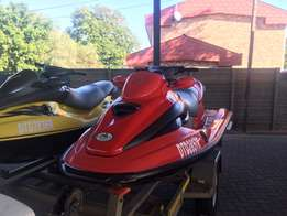 Jet Skiis and Trailer