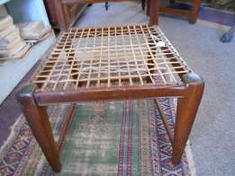 Antique Stinkwood Riempies Chair