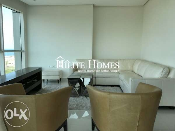 Full floor sea view three bedroom apartment for starting rent KD 1100 الشعب البحري -  2