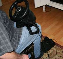 PS3 Racing Wheel MadCatz