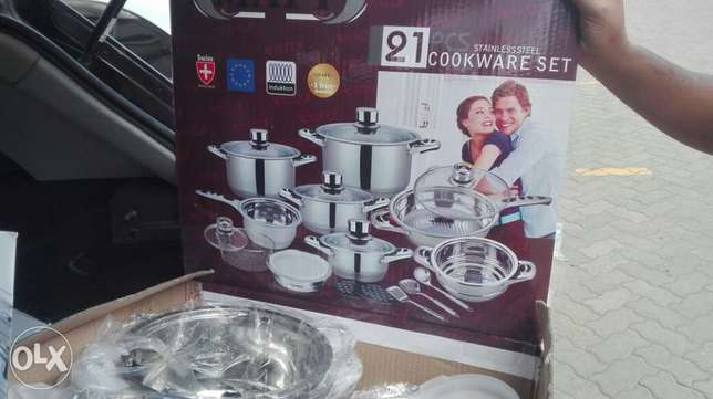 Imported Stainless Steel Cooking Pots with Timers Nairobi CBD - image 4