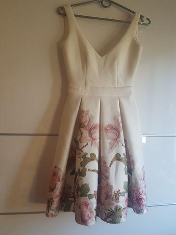 Archiwalne Sukienka Bez Pleców Z Bolerkiem S Wesele Poprawiny
