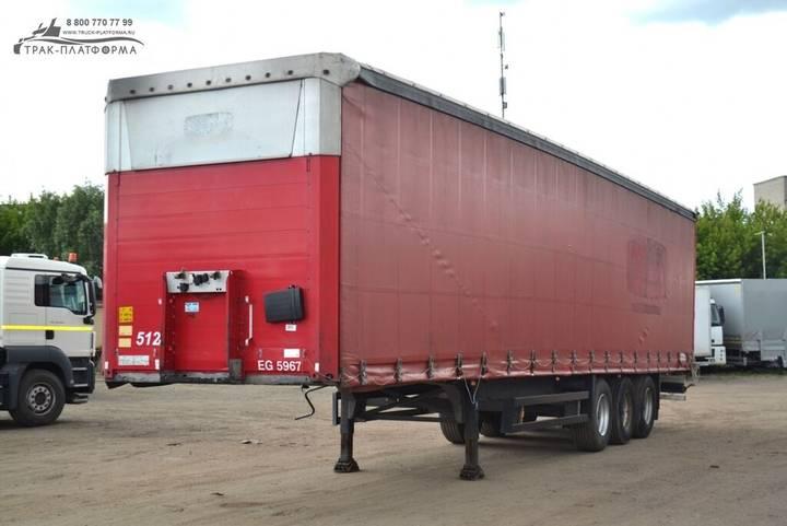 Schmitz Cargobull CARGOBULL S01  curtain side semi-trailer - 2019