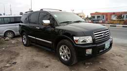 Big And Luxurious Nig Used 2005 Infiniti QX 56 In Excellent Condition