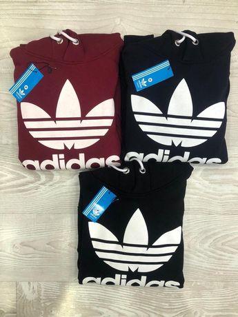 Adidas ORIGINALS trefoil bluza z kapturem S M L XL różne