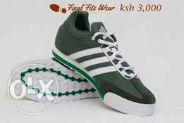 Shoes from final fit wear